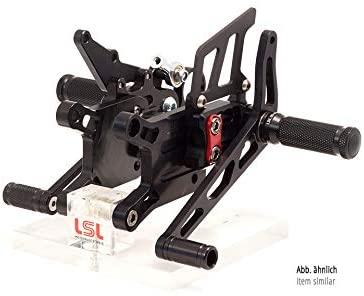 Motorize LSL 2Slide peg System 990 Super Duke Racing, Fixing Piece red