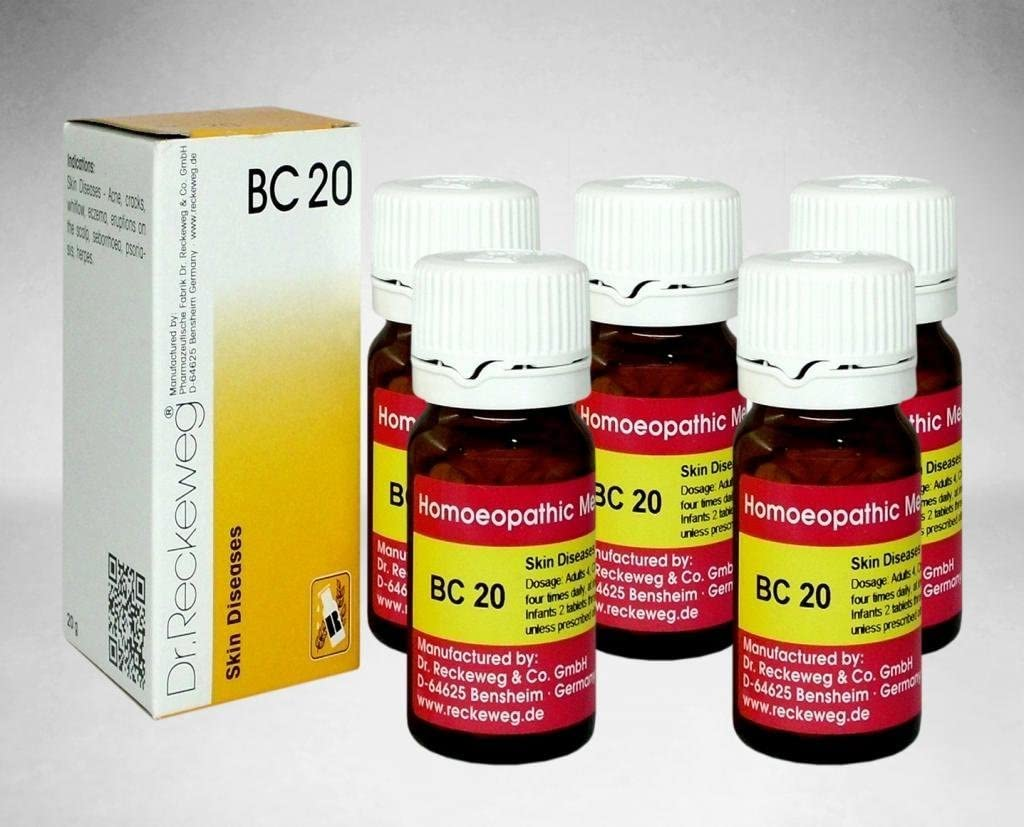 Dr. Reckeweg Dr.Reckeweg Germany Biochemic Combination Tablet Bc Pack of 5