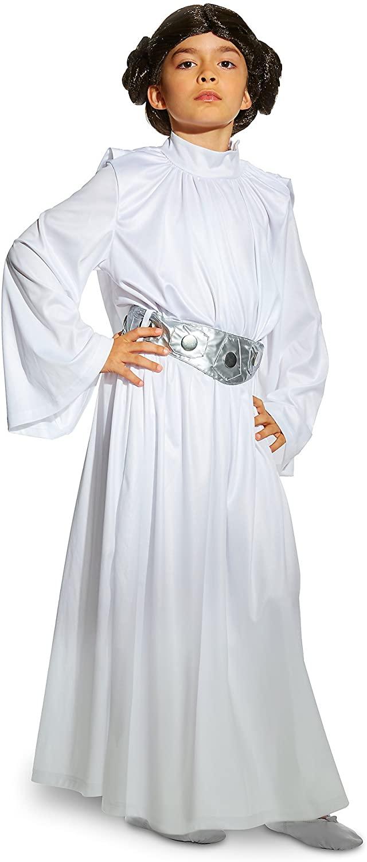 Star Wars Princess Leia Costume for Kids Size 4 White