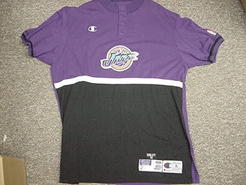 Howard Eisley Utah Jazz 1998-2000 Champion Game Worn Shooting Shirt