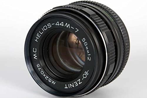 HELIOS 44M-7 58MM F2 Russian Lens for Micro 4/3