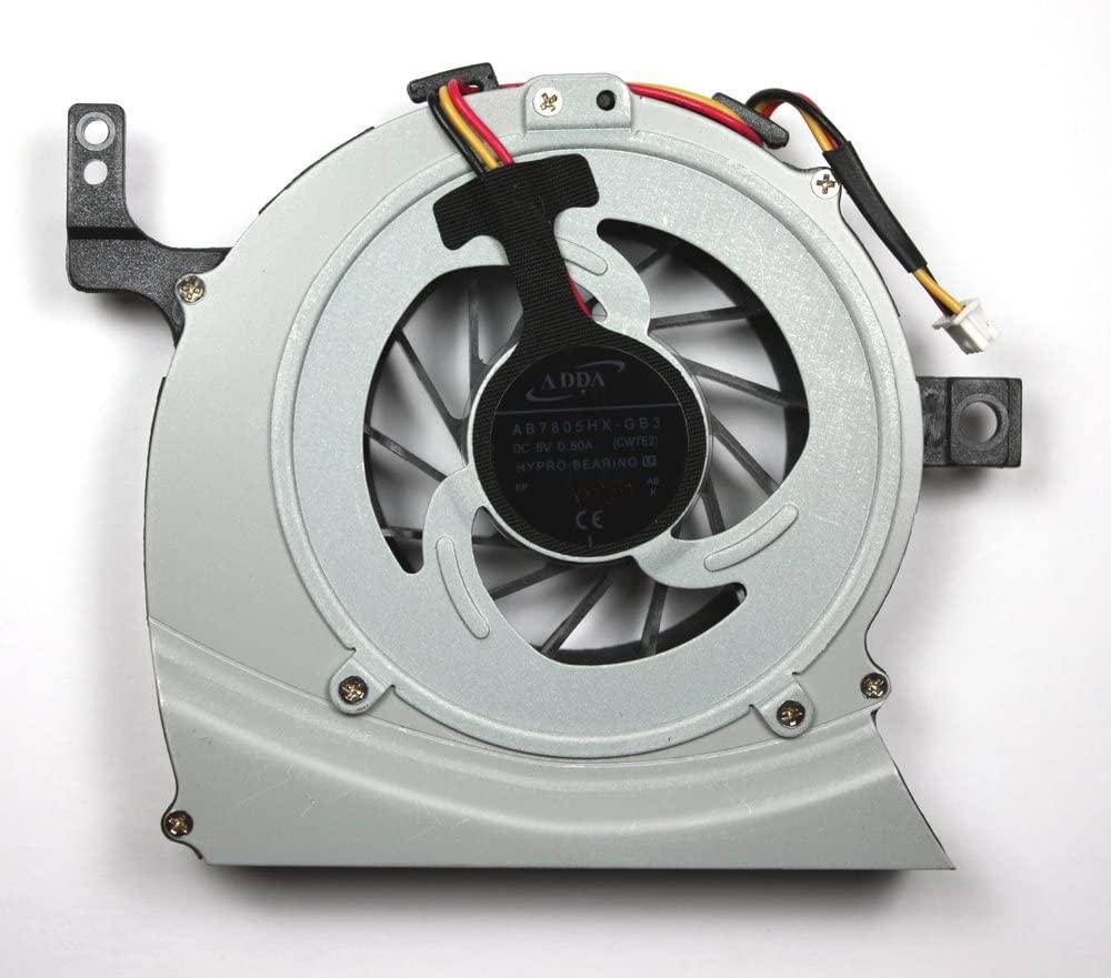 Power4Laptops Replacement Laptop Fan for Toshiba Satellite L645-S4060, Toshiba Satellite L645-S4102, Toshiba Satellite L645-S4103, Toshiba Satellite L645-S4104, Toshiba Satellite L645-S4104BN