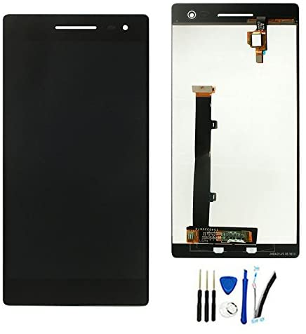 LCD Display Screen Digitizer Touch Assembly Replacement for Lenovo Phab 2 Pro Phab2 Pro PB2-690 PB2-690N PB2-690M PB2-690Y 6.4inch Black