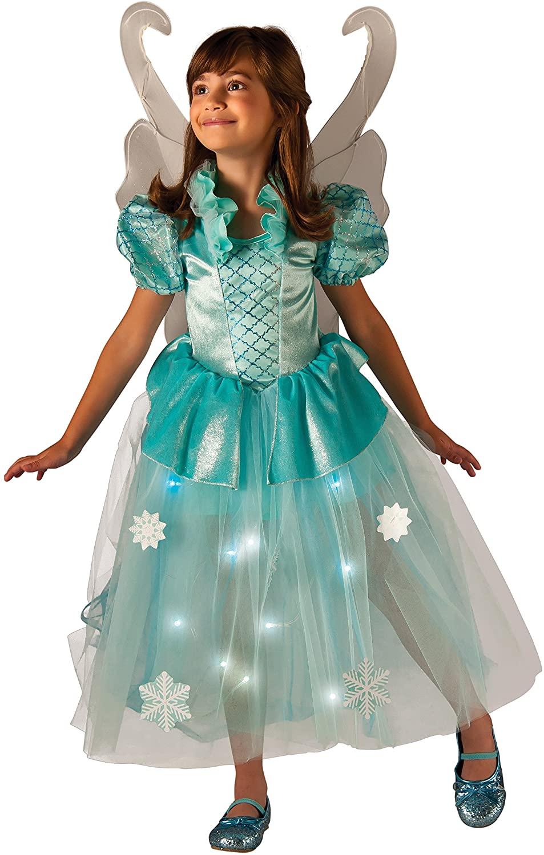 Rubies Costume Kids Winter Fairy Lite up Costume, Small