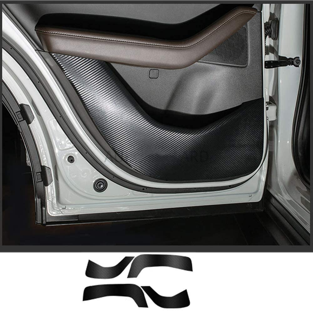 LUVCARPB Car Interior Door Anti-Kick Styling Cover Sticker Accessories, Fit for Mazda CX30 CX-30 2019 2020