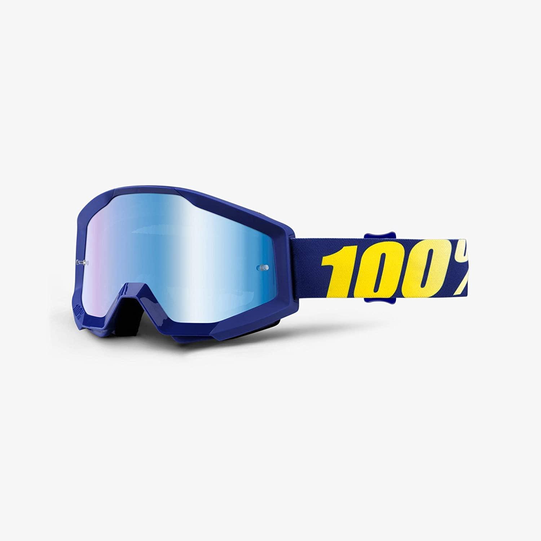 100% unisex-adult Speedlab (50410-238-02) STRATA Goggle Hope-Mirror Blue Lens, One Size