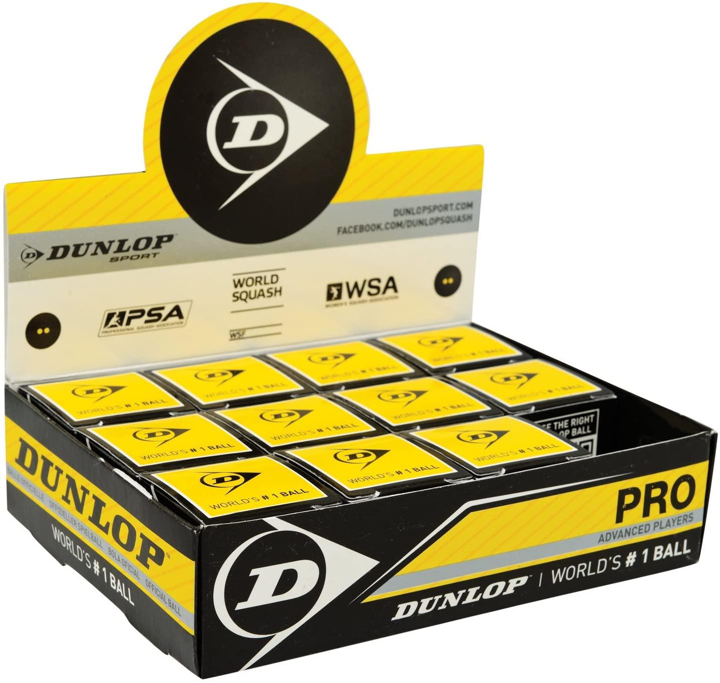 Dunlop 1X Mix Package Squash Ballss