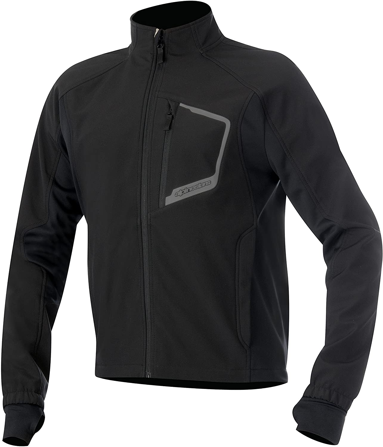 Alpinestars Men's Tech Layer Motorcycle Riding Top, Black, 3X-Large