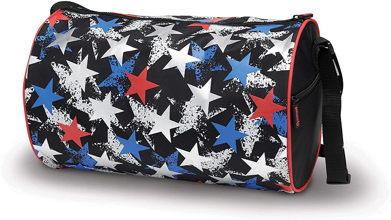 DansBagz Metallic Star Gymnast Duffle Bag 14