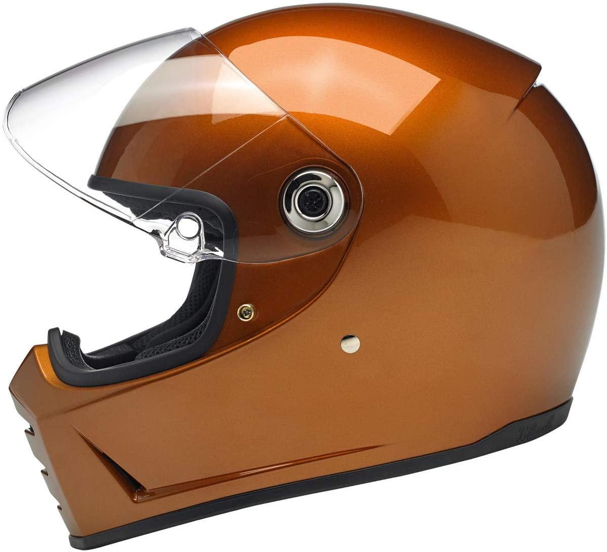 Biltwell Lane Splitter Helmet - Gloss Copper - Medium