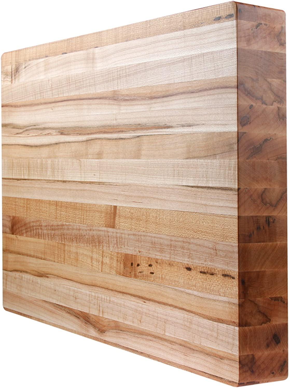 Kobi Blocks Maple Edge Grain Butcher Block Wood Cutting Board 20