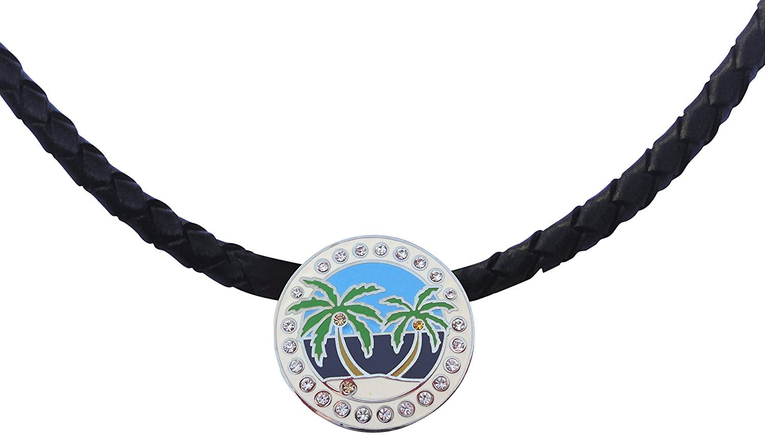 Island Paradise Golf Necklace and Golf Ball Marker