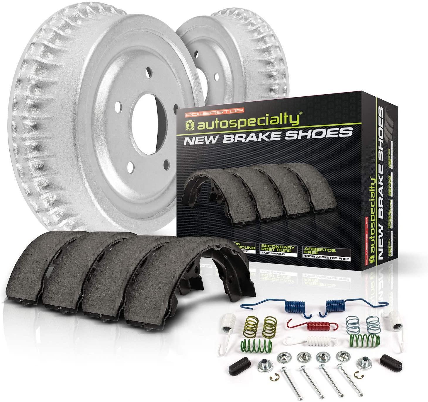 Power Stop KOE15313DK Autospeciality Replacement Rear Brake Kit- OE Rotors & Ceramic Brake Pads