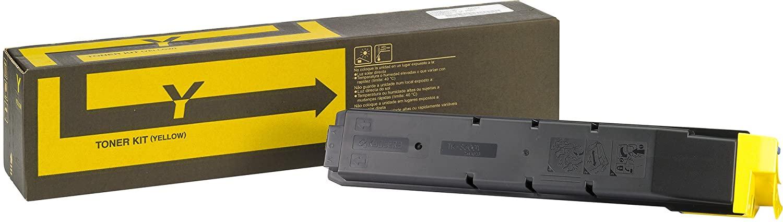 TK-8600Y Toner-Kit gelbfür 20.000 Ausdrucke gemäß ISO/IEC 19798FS-C8600DN/FS-C8650DNDer mitgelieferte Toner ist nach Erstbefüllung des Neugerätes noch ausreichend für 10.000 Ausdrucke gemäß ISO/IEC 19798.