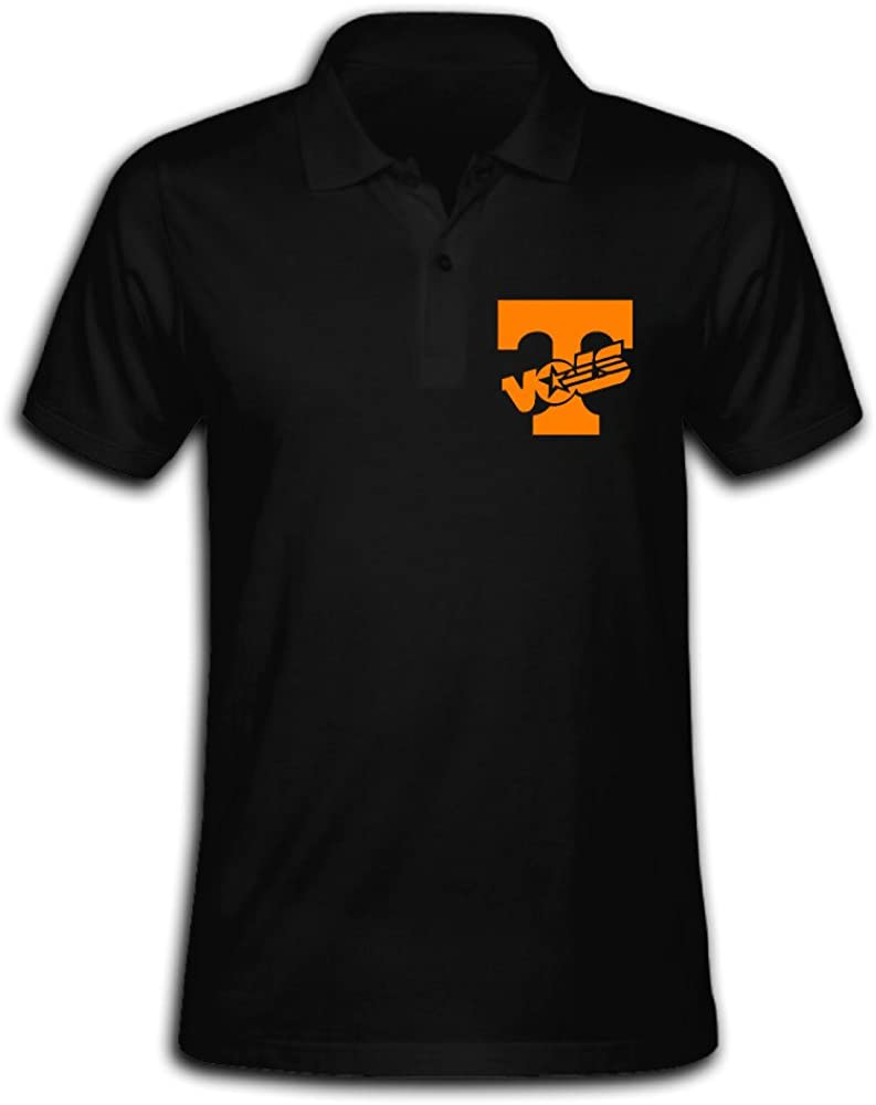 Wiqfz98hcy Men's Tennessee Volunteers Solid Short Sleeve Pique Polo Shirt