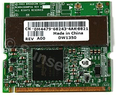 Genuine Dell Inspiron 5160, 5530 Laptop Wifi Wirelss Card 68243-52M-5530 BCM94306MPSG 0M4479