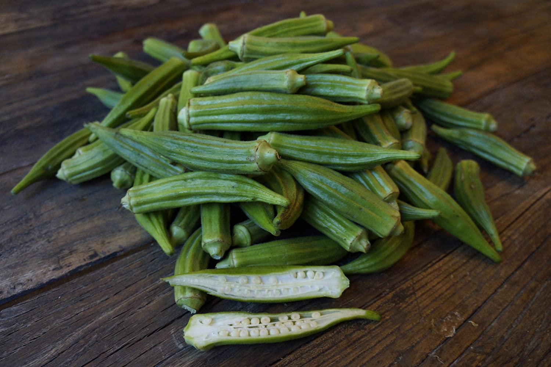 Organic Fresh Okra, 2 lbs