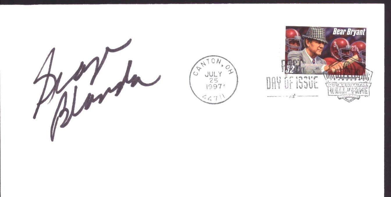 George Blanda HOF Signed/Autographed 1997 FDC First Day Cover Kentucky 151244