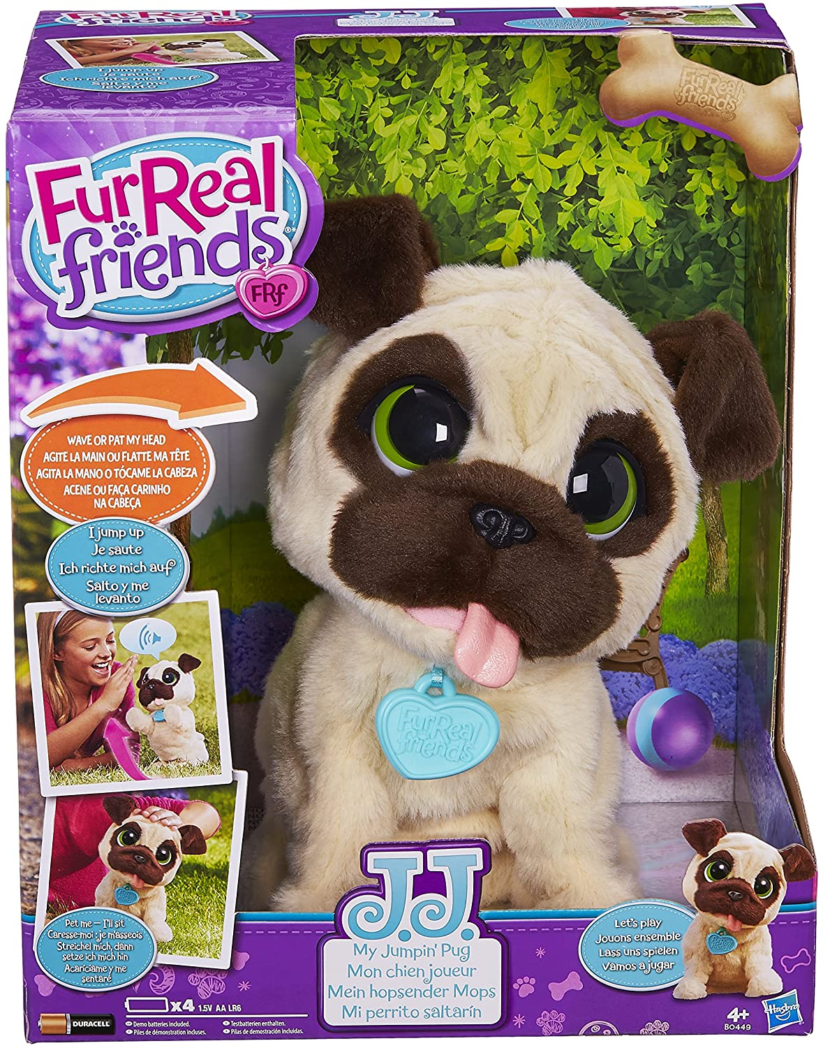FurReal friends JJ, My Jumpin' Pug Pet