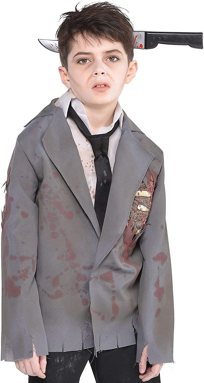 amscan Child Zombie Jacket, Black