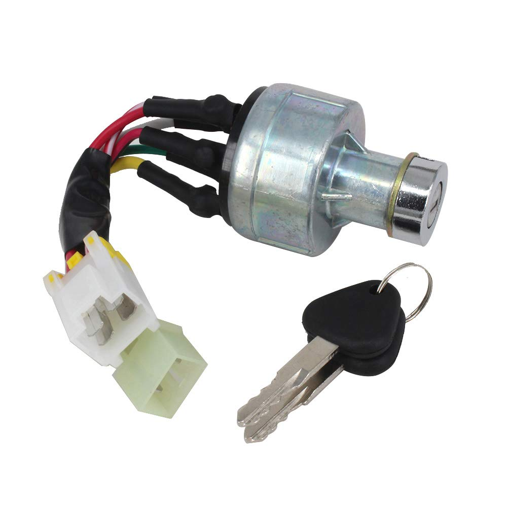 VOLVO14526158 Volvo 14529152 Ignition Switch,Starter Switch with 2 PCS Keys for Volvo Excavator