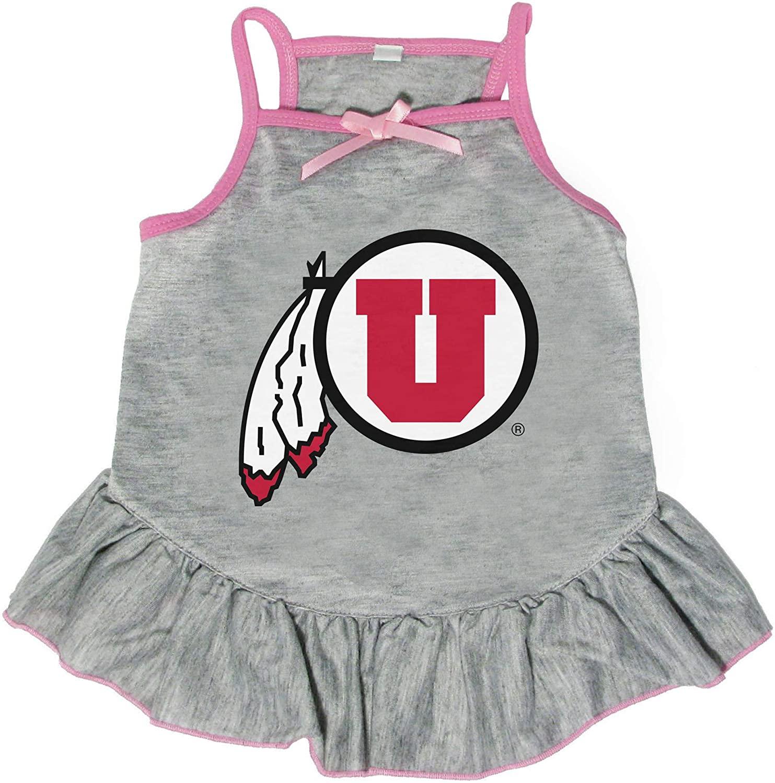 Littlearth NCAA Utah Utes Pet Dress, Extra Small