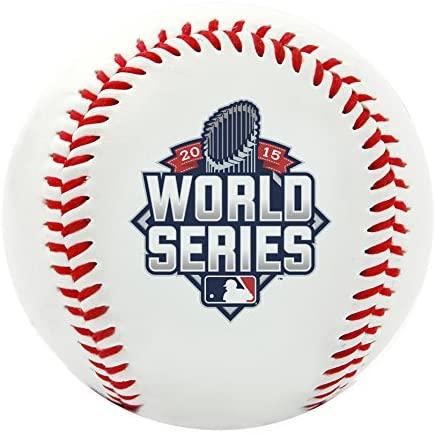 Rawlings MLB Kansas City Royals World Series Replica Baseball, Official Size, White