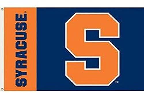 JTD Enterprises NCAA Syracuse Orange Flag, 3 x 5', Orange