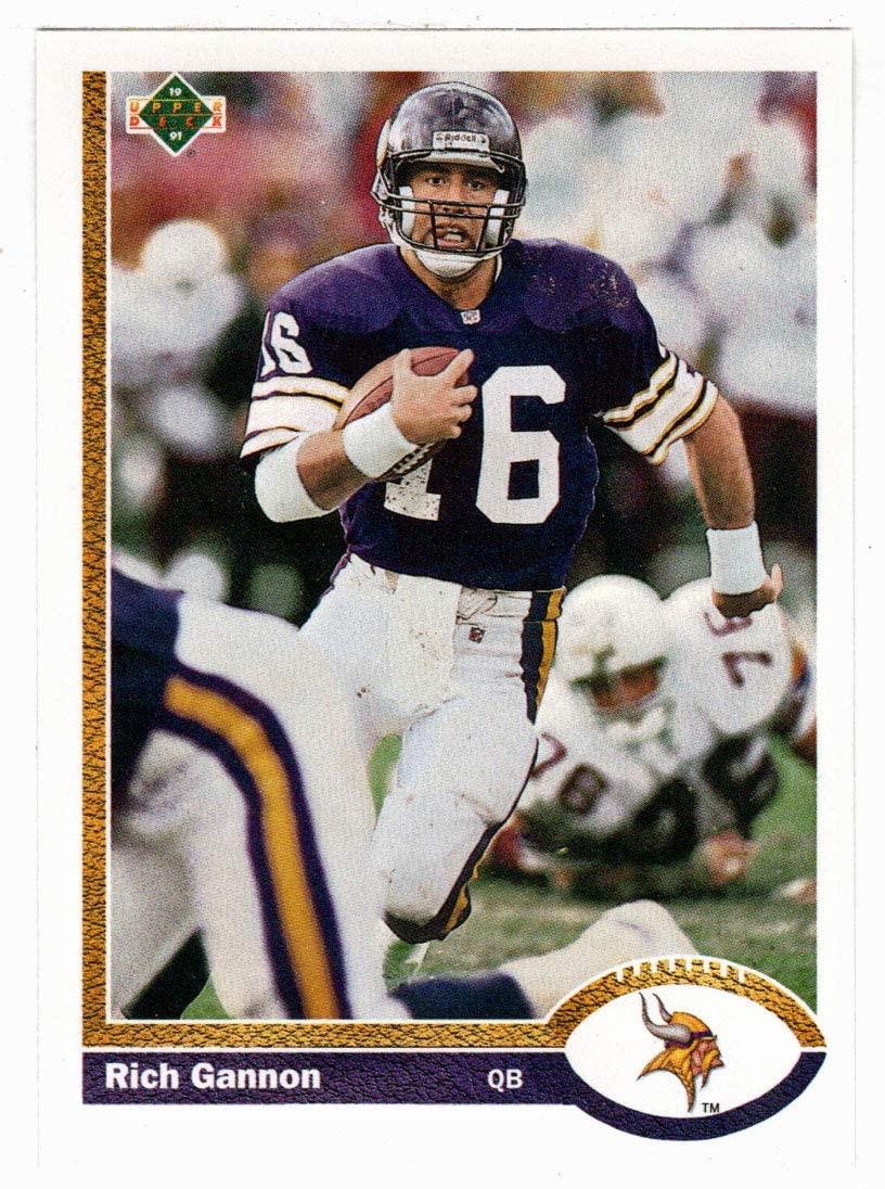 Rich Gannon - Minnesota Vikings (Football Card) 1991 Upper Deck # 659 Mint
