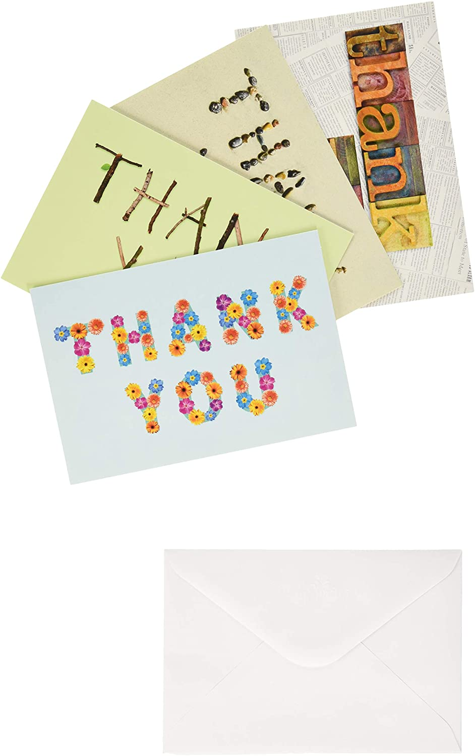 DaySpring - Thank You - Many Blessings - 12 Boxed Cards, KJV (74880)