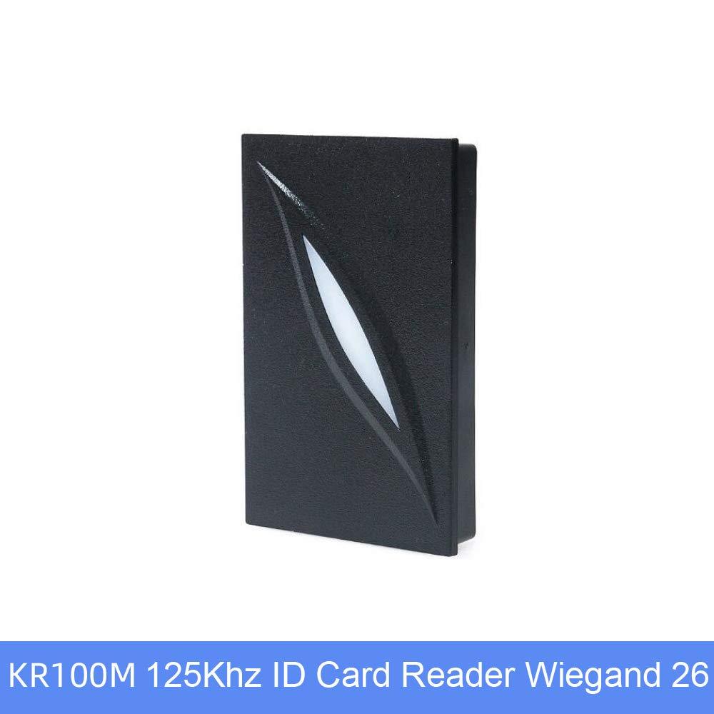BSTUOKEY Waterproof IP65 Wigand 26/34 Access Control Reader 125kHz 1356Mhz RFID Card Approach Reader KR100E Wiegand Reader (KR100E 125Khz)