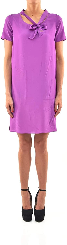 DSQUARED2 Dress Purple Women - Size: 42 - Color: Purple - New