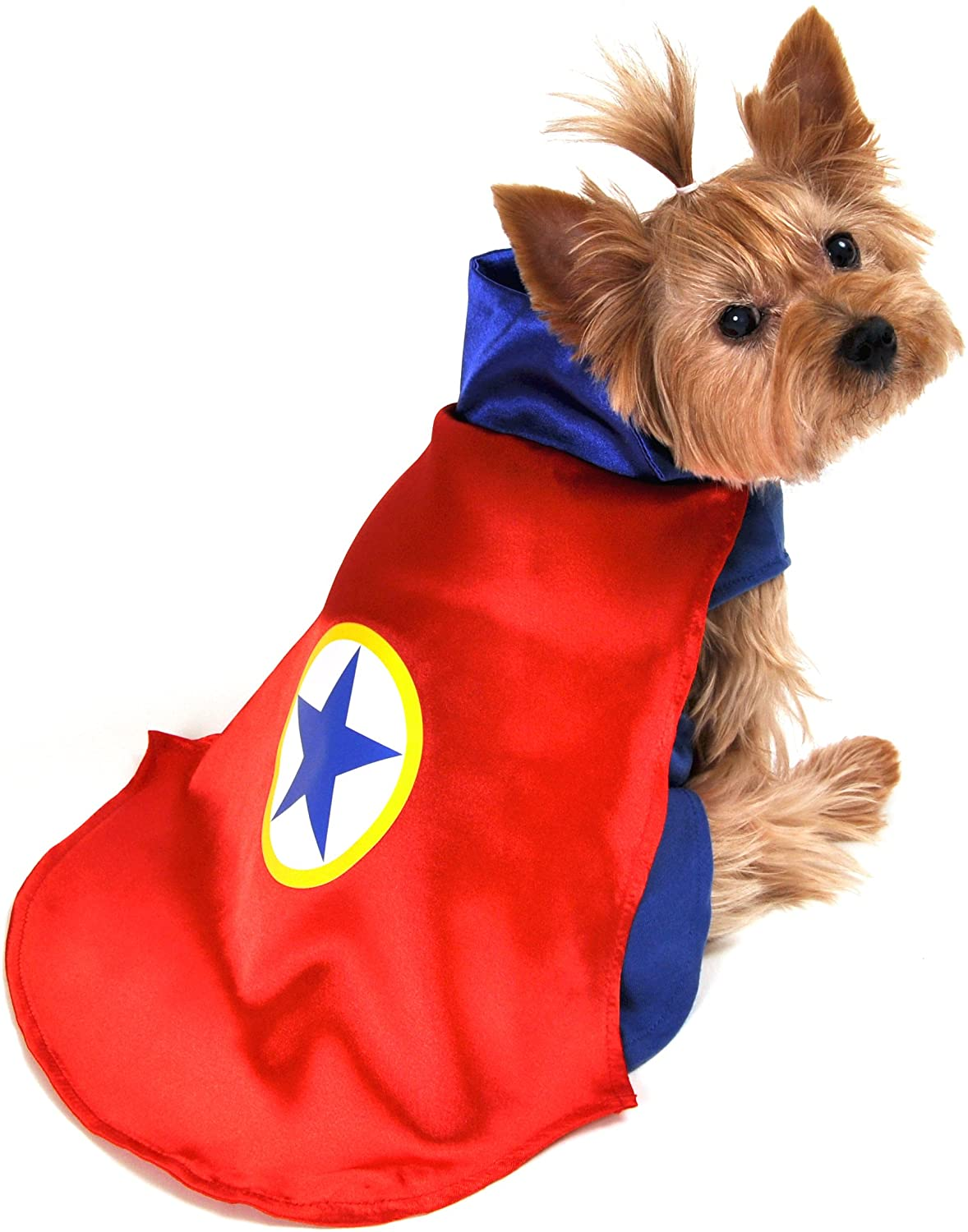 Anit Accessories AP1090-XL Superhero Dog Costume, Red
