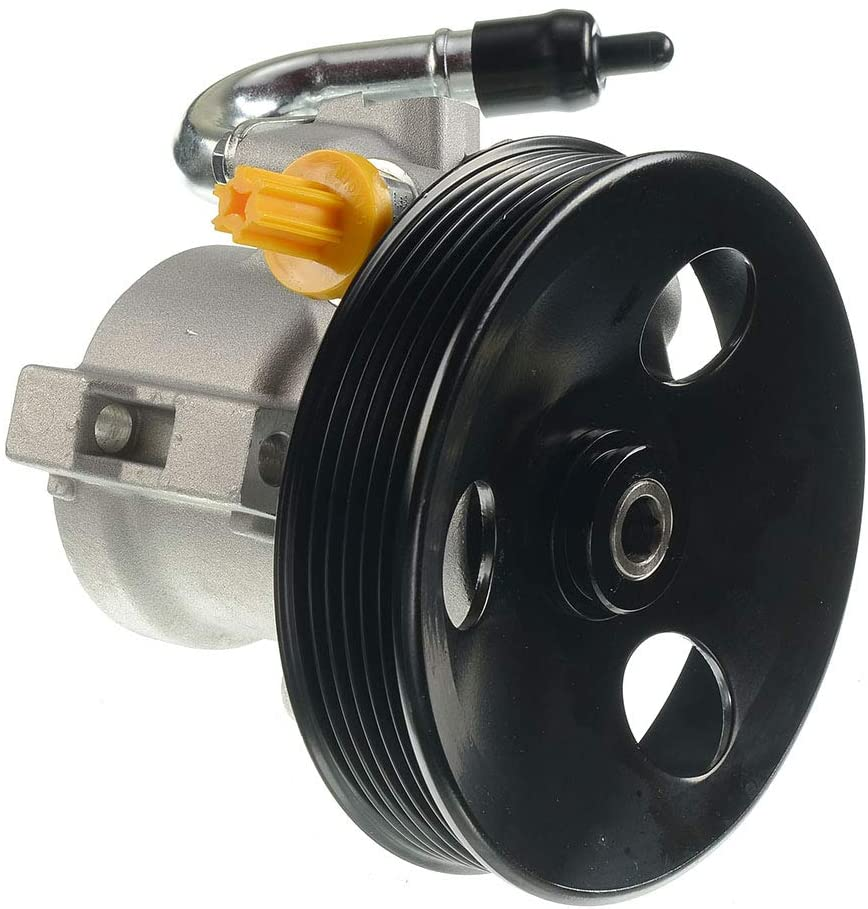 A-Premium Power Steering Pump with Pulley Replacement for Chevrolet Aveo Aveo5 Pontiac G3 Wave Wave5 Suzuki Swift+ 2007-2018