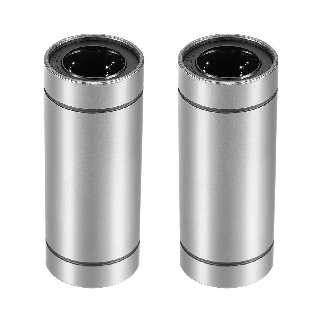 uxcell LM20UU Extra Long Linear Ball Bearings, 20mm Bore Dia, 32mm OD, 80mm Length Pack of 2