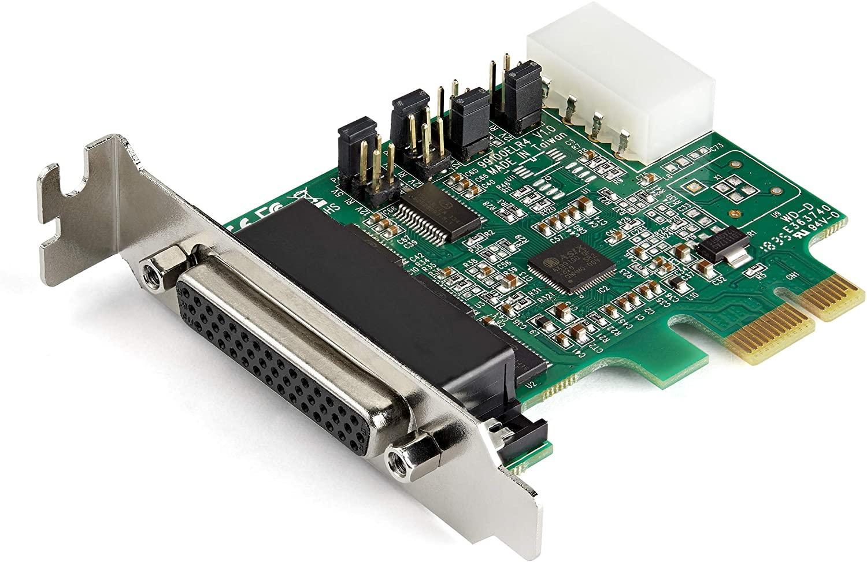 StarTech.com 4-poorts PCI Express RS232 seriële adapterkaart - 16950 UART - 256-byte FIFO cache - ASIX AX99100 - Low Profile Bracket - vervanging voor PEX4S952LP (PEX4S953LP)