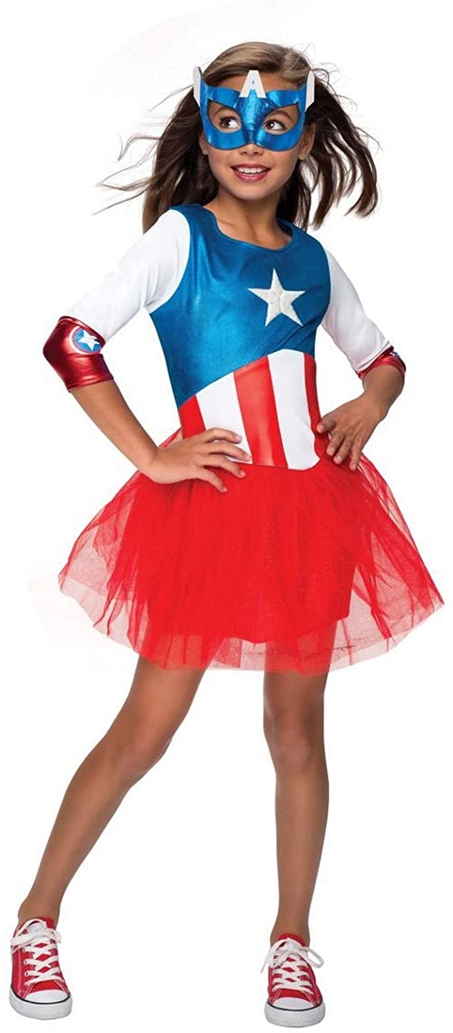 Rubie's Kids American Dream Metallic Dress Costume