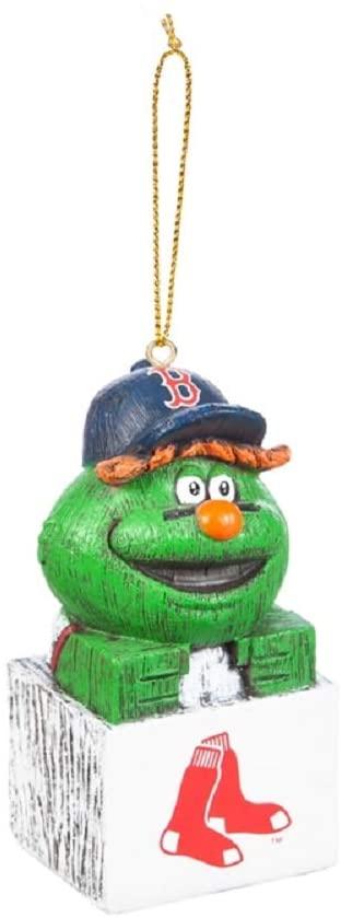 Evergreen MLB Boston Red Sox OrnamentTiki Design, Team Colors, One Size