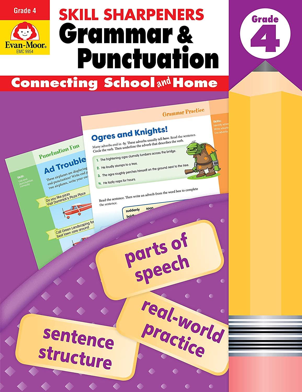 Evan-Moor Grammar & Punctuation, Grade 4