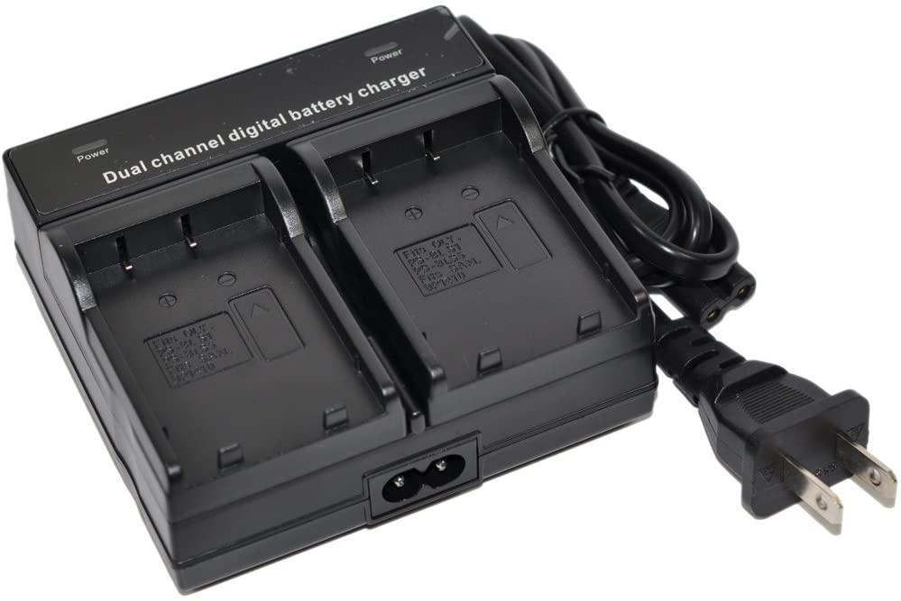 EN-EL15 Battery Charger AC Wall Dual for ENEL15 EN-EL15a EN-EL15e one 1 V1 D600 D610 D7000 D7100 D7200 D750 D800 D810 D810a D800s D800e Camera