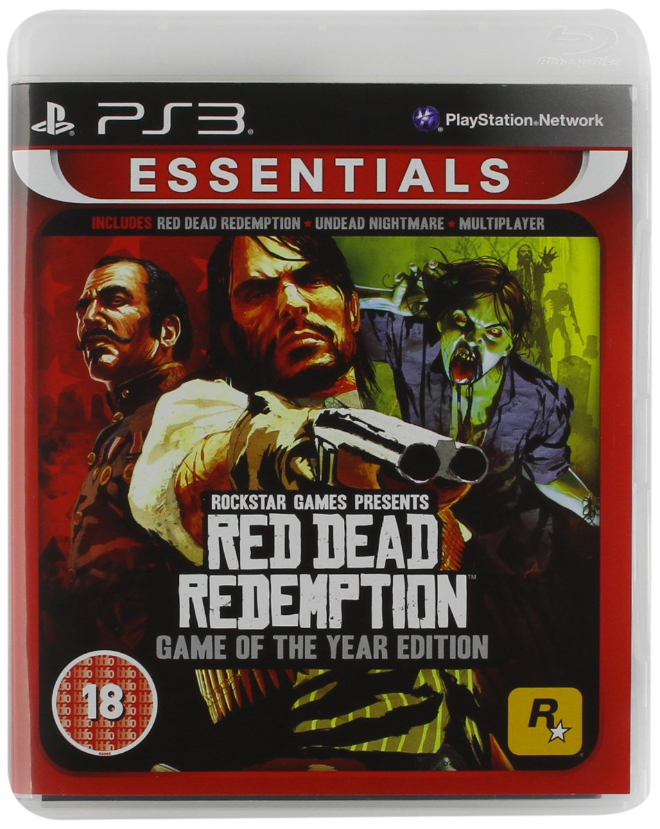 Red Dead Redemption Game of the Year Essentials (PS3)