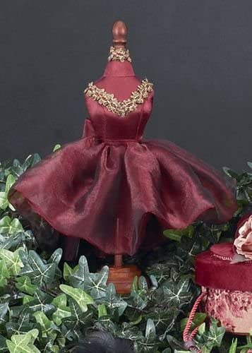 Bearington Bears Red Dress Form