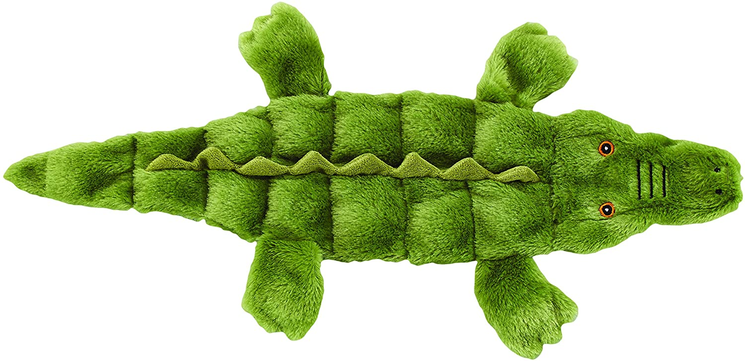 SPOT Ethical Pets Skinneeez Tons of Squeakers Alligator Dog Toy, 21-Inch