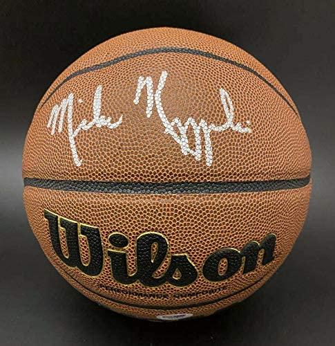 Coach K Mike Kryzyzewski SIGNED NCAA Basketball Duke Blue AUTOGRAPHED - PSA/DNA Certified - Autographed College Basketballs