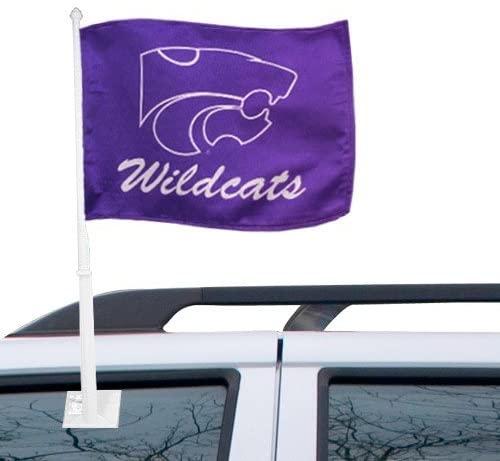 NCAA Kansas State Car Flag, One Size, Multicolor
