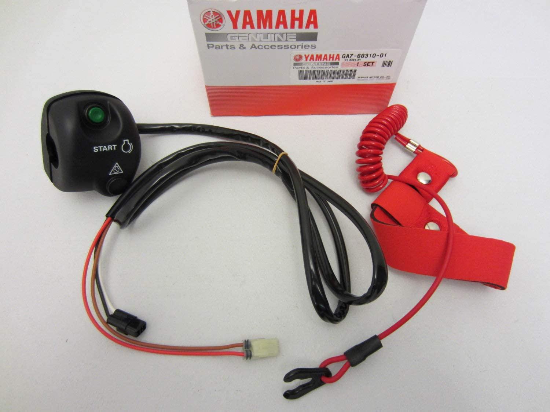 Yamaha New OEM WaveRunner Start Stop Switch Box LH Handlebar w/Lanyard