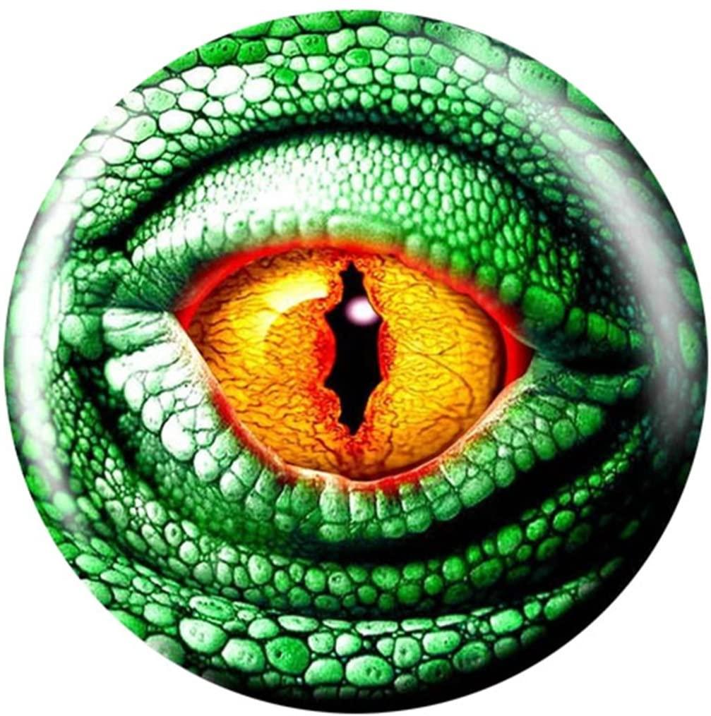 Brunswick Lizard Glow PRE-DRILLED Viz-A-Ball Bowling Ball