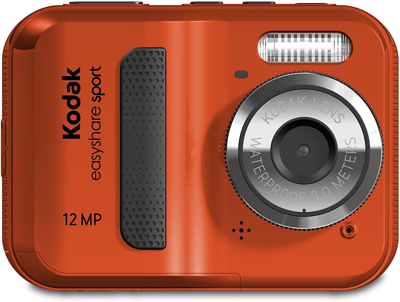 Kodak EasyShare Sport C123 12 MP Waterproof Digital Camera (Red)