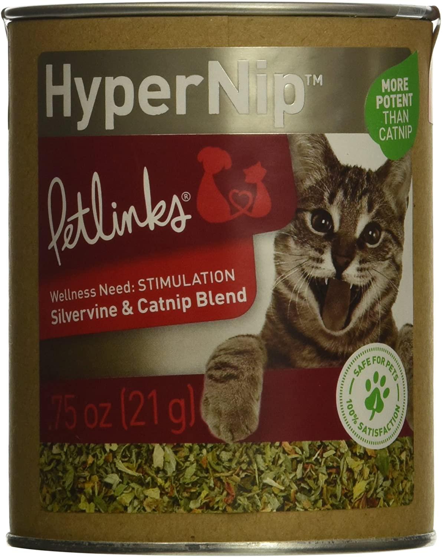 Petlinks Pure and Natural Cat Treats: Greens, Seeds, Loose Leaf Catnip and HappyNip, Catnip Spray