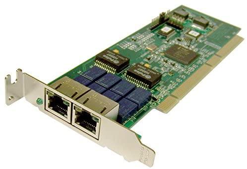 Interface Masters 2xGB PCI-x Adapter NIAGARA2260C-GB-LP Low Profile Bracket Card
